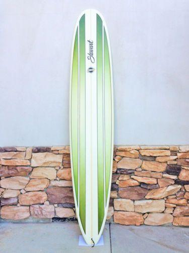 Stewart Longboard Surfboard 10 E Type Hand Shaped Epoxy Mint