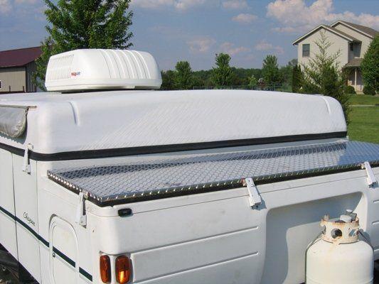 Front Storage Lid Camper Pinterest Camper Remodeling