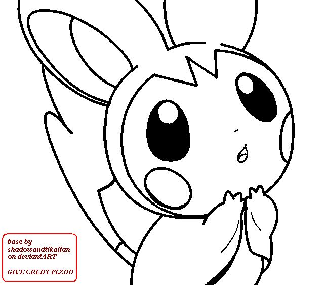 emolga pokemon coloring pages - photo#9