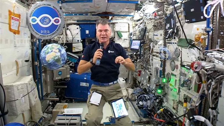 1st month of VITA Mission on ISS