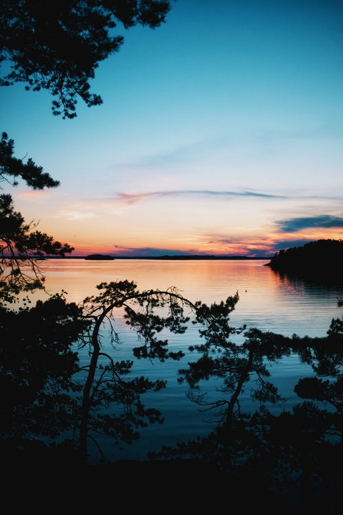 Sunset in Stockholm's Archipelago