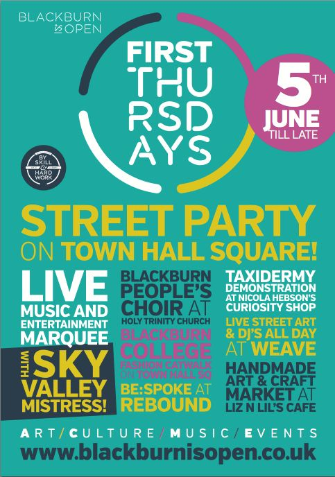This months First Thursday we will be having a STREET PARTY !!!