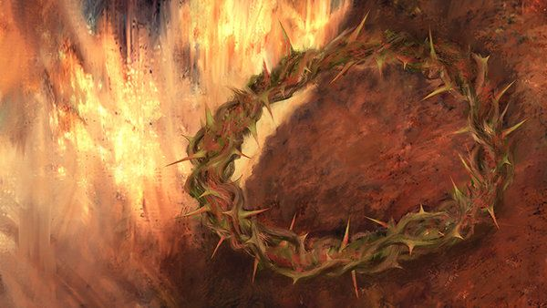 Crown of thorns Digital Painting