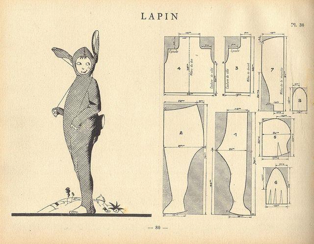 vintage bunny suit