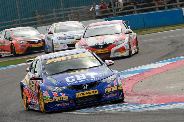 Honda Civic race car - BTCC - Andrew Jordan 2013 Champion