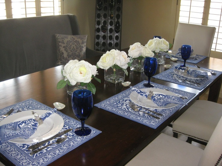 Intimate dinner party....