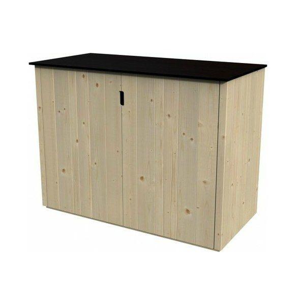 Armario exterior de madera Bajo BASSE VERTIGO 120x57cm