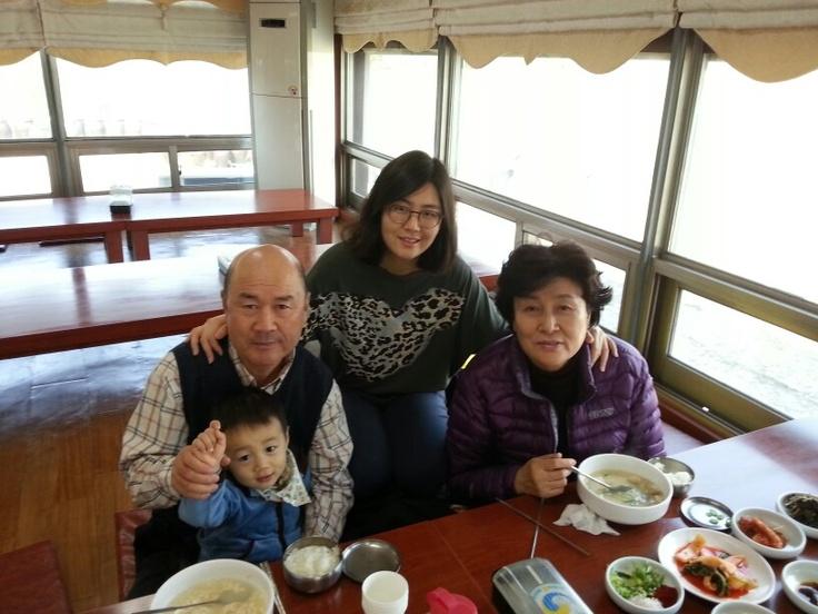 아침식당에서 꿀쭝키의요청으로 홍홍