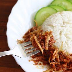 how to make sambal ikan bilis Malaysian anchovies recipe