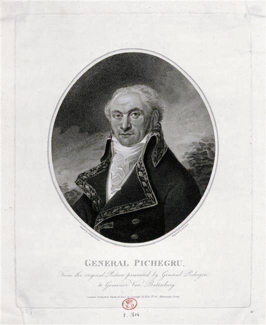 Jean-Charles Pichegru (1761-1804), général français de la Révolution - 1804