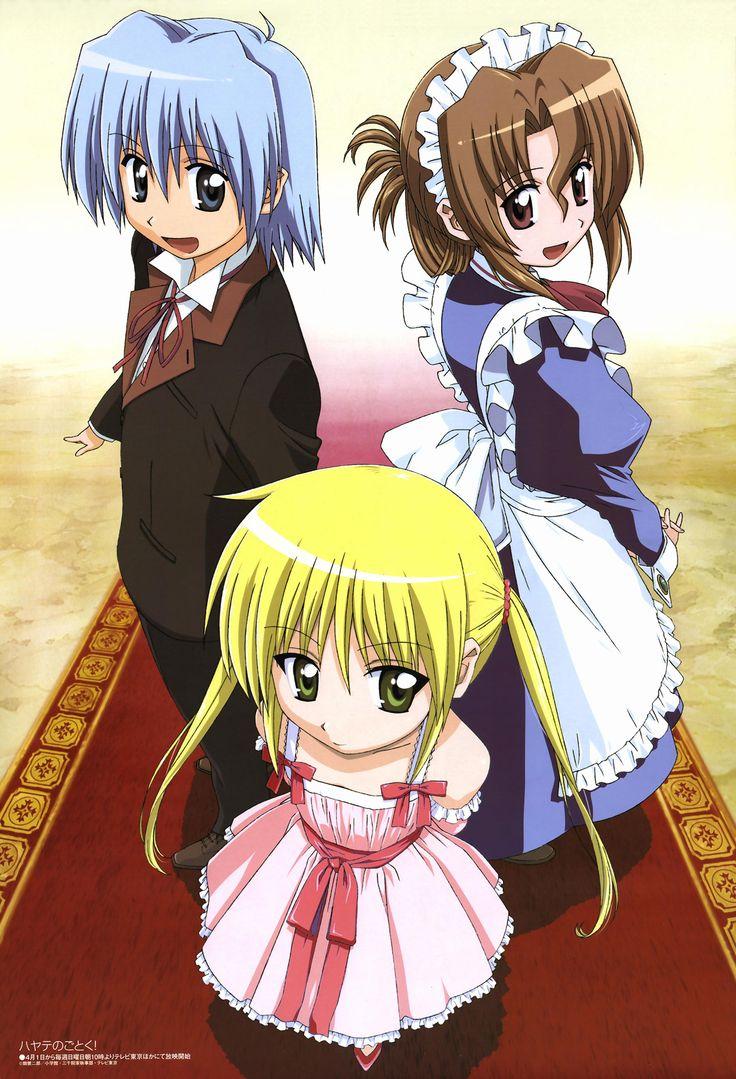 Hayate no Gotoku S2 Hayate, Butler anime, Anime