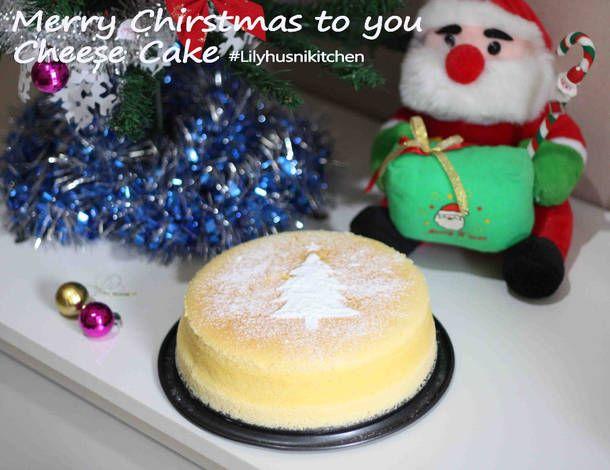 Holiday menu cheese cake