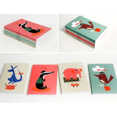 The Claudettes Notebooks by Darling Clementine
