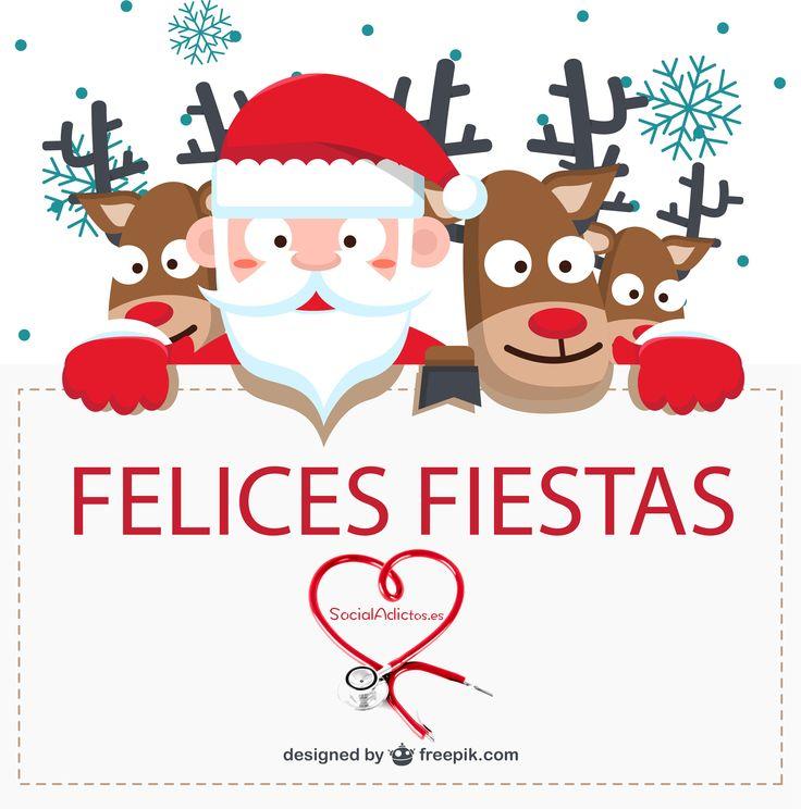 #Tarjeta de #Navidad de #SocialAdictos