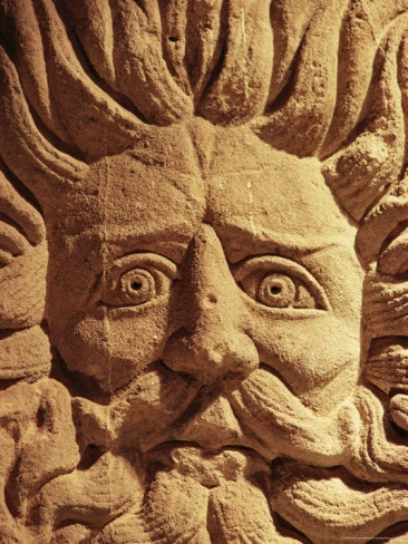 Pump room carving, Bath, Somerset