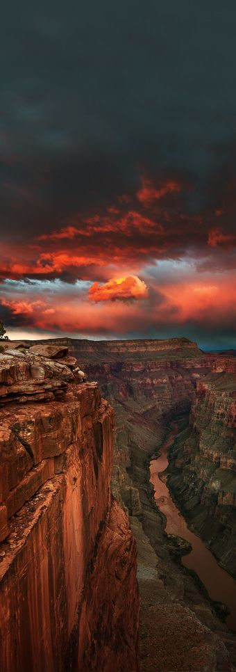 The grandeur of the Grand Canyon, USA.