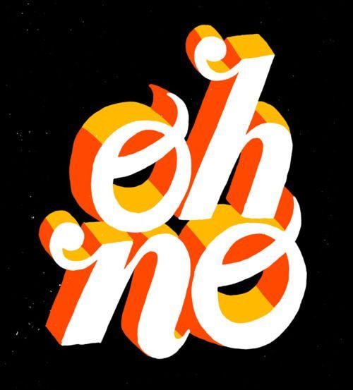 Hand-drawn typography by Brad Simon.