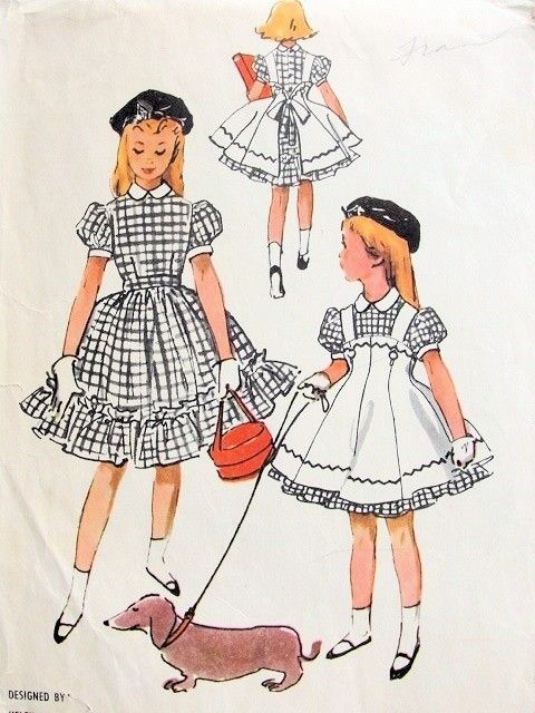 72 best Vintage Patterns images on Pinterest | Vintage sewing ...