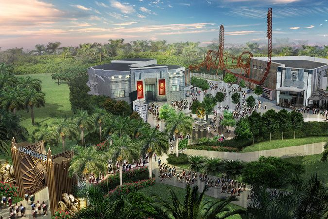 Lionsgate is developing plans for a theme park with rides based on their films such as The Hunger Games