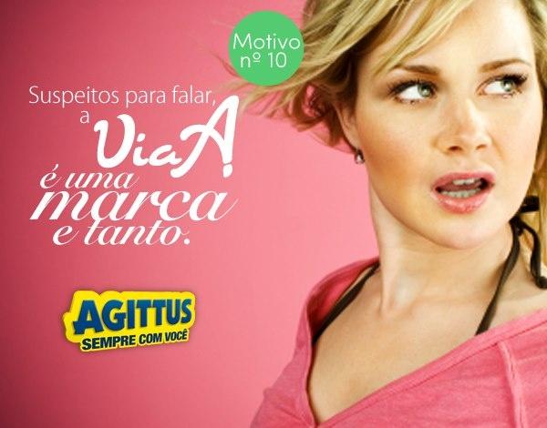 Exclusividade? Sim nós temos! Conheça a Via A, uma marca exclusiva para a Agittus Calçados! Esse é mais um dos 20 motivos para você curtir a Agittus.