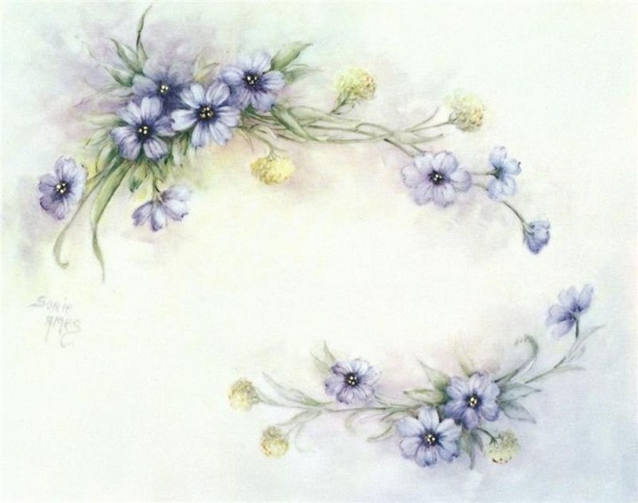 Pintura sobre porcelana(+1) - (1) - Tarjeta de Decoupage | DIY!