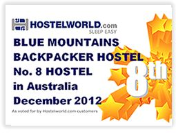 Budget Accommodation Blue Mountains : Backpacker Hostel No 8 Hostel in Australia