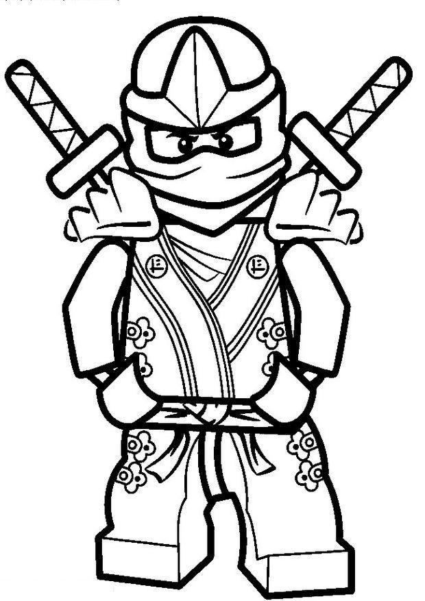 9 best ninja coloring and activity page images on Pinterest Top - best of lego ninjago coloring pages ninja