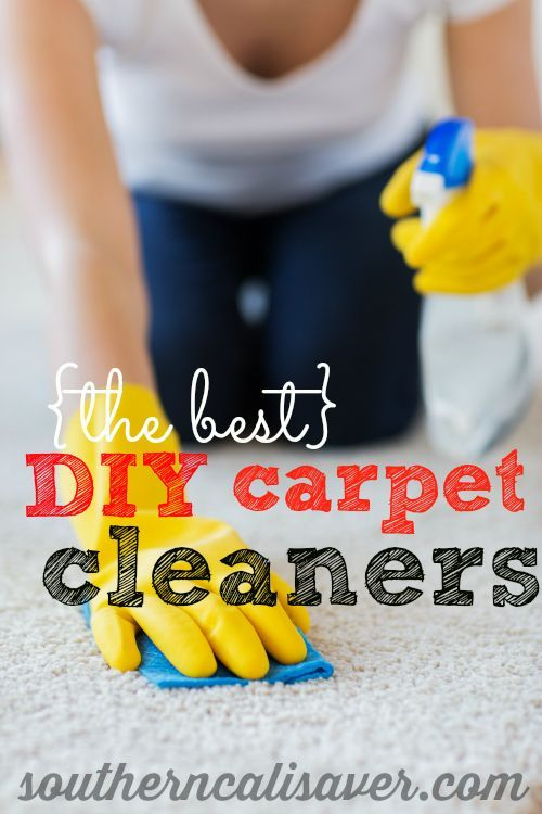 DIY Carpet Cleaning Recipes. You can never have too many carpet cleaning options!