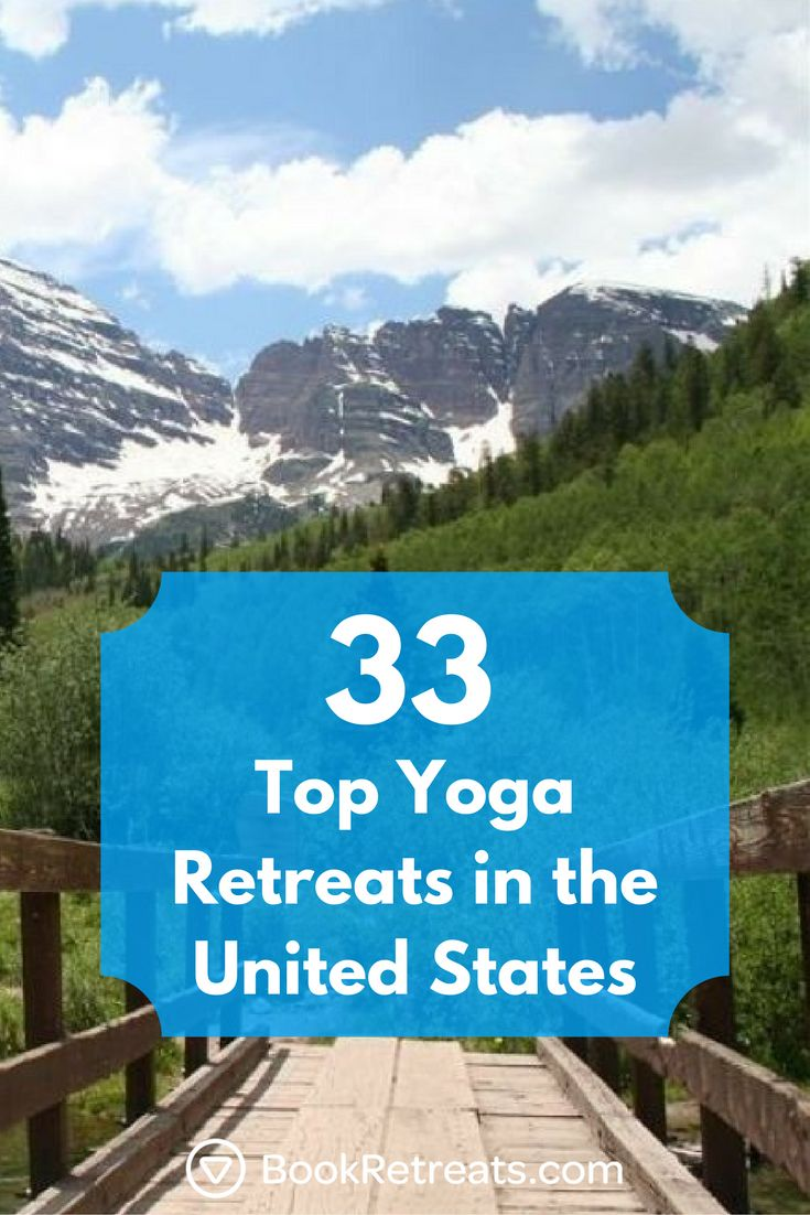 Visit some of the most spectacular places in the United States on your next vacation or holiday. Deepen your yoga practice or practice serious self-care with spa treatments and meditation. The possibilities are endless.  #yogaretreats #yogaretreat #holiday #unitedstates #travel