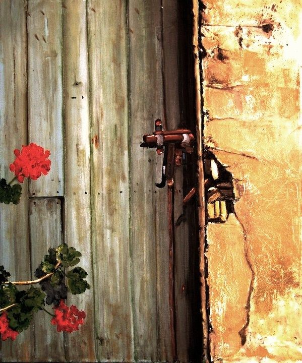 """""""puerta de casa"""", detalle... en camino a la Laguna de Aculeo...... Abrantes, Chile"""