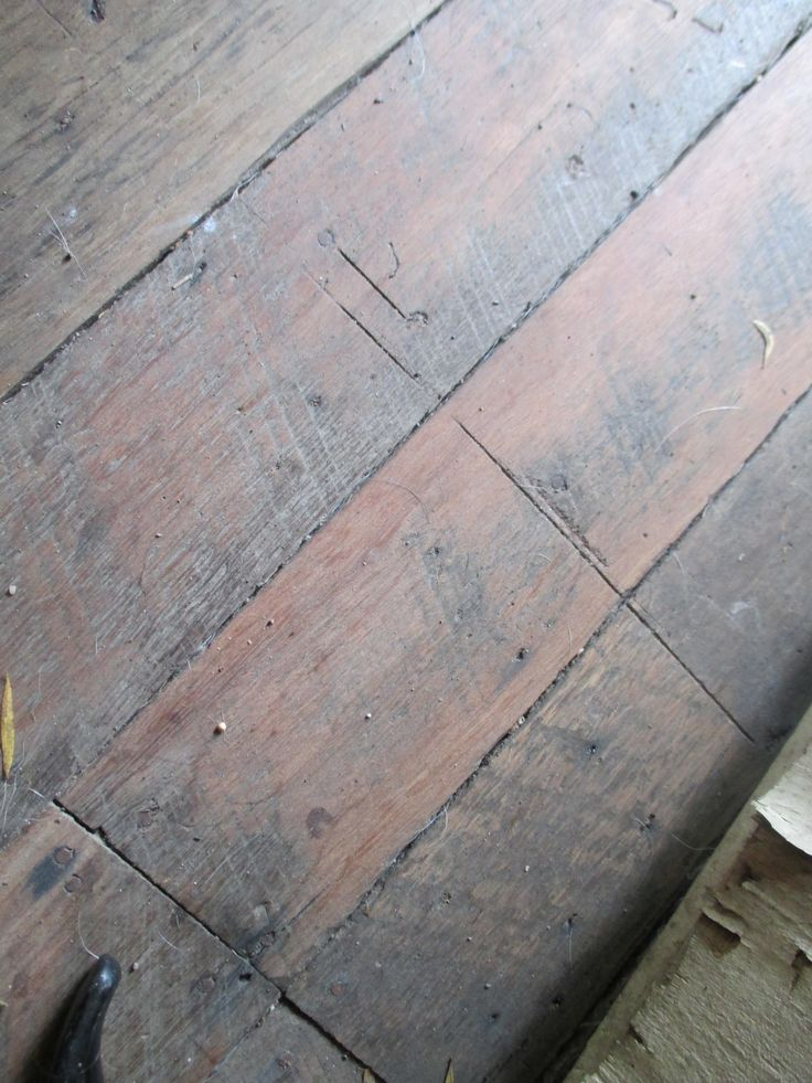 Before- Floorboards (to become ploished floorboards)