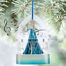 Disney Elsa Singing Sketchbook Ornament - Frozen (as of 7/21/2015)