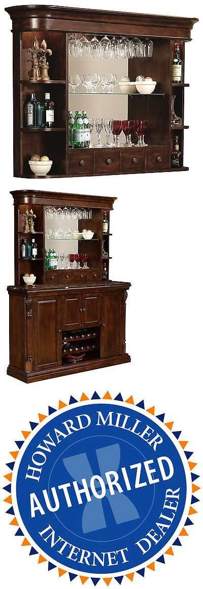 Home Pubs and Bars 115713: Howard Miller 693-007 (693007) Niagara Bar Hutch - Rustic Cherry -> BUY IT NOW ONLY: $1349 on eBay!