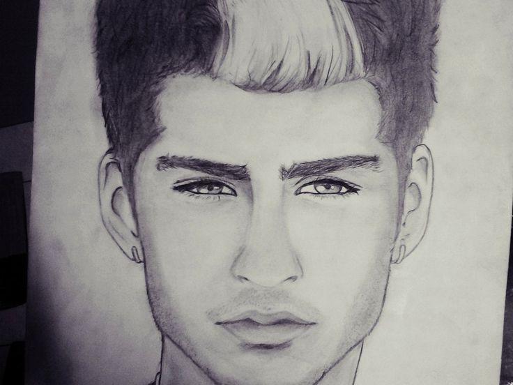 Zayn Malik Drawing Skills 122 Best images...