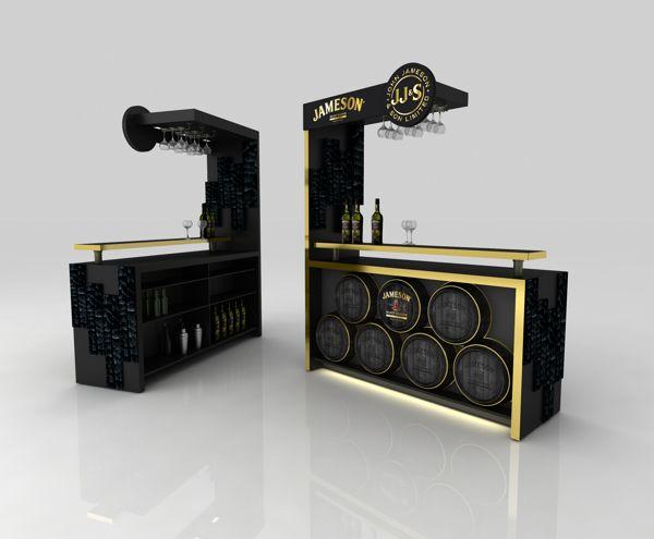 Bar design Jameson on Behance
