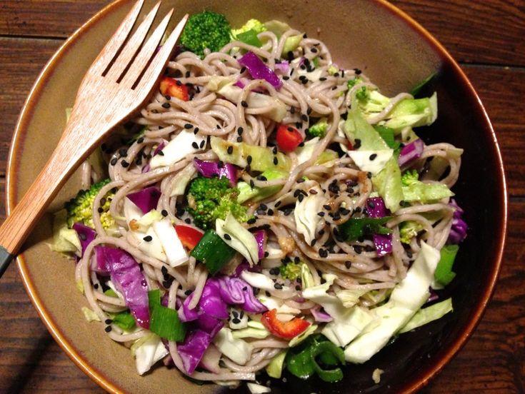 Veggie Soba Noodle Bowl