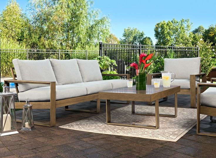 Refreshingly Minimalistic, Yet Inviting And Comfortable, The Tilley Outdoor  Chair Turns Your Deck Or Part 67
