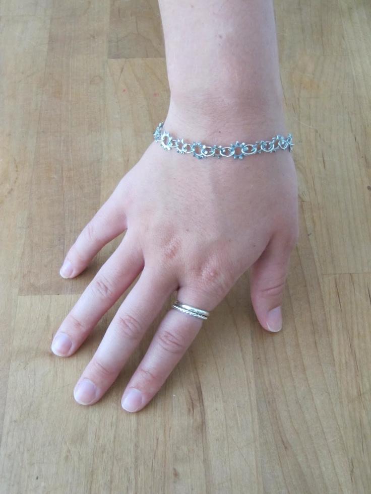Sew Many Ways...: Tool Time Tuesday...Washer Bracelet