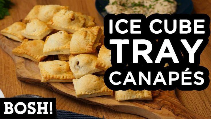 ICE CUBE TRAY CANAPÉS | BOSH! | VEGAN - YouTube