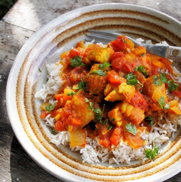 Celebrate National Curry Week with my Easy Low-Fat Monkfish Curry Recipe :http://www.lavenderandlovage.com/2012/10/celebrate-national-curry-week-with-my-easy-low-fat-monkfish-curry-recipe.html