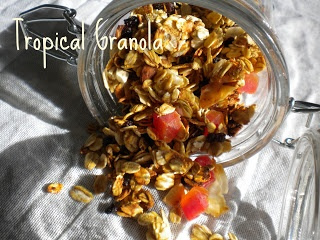 The Best Tropical Granola Ever | Granola | Pinterest