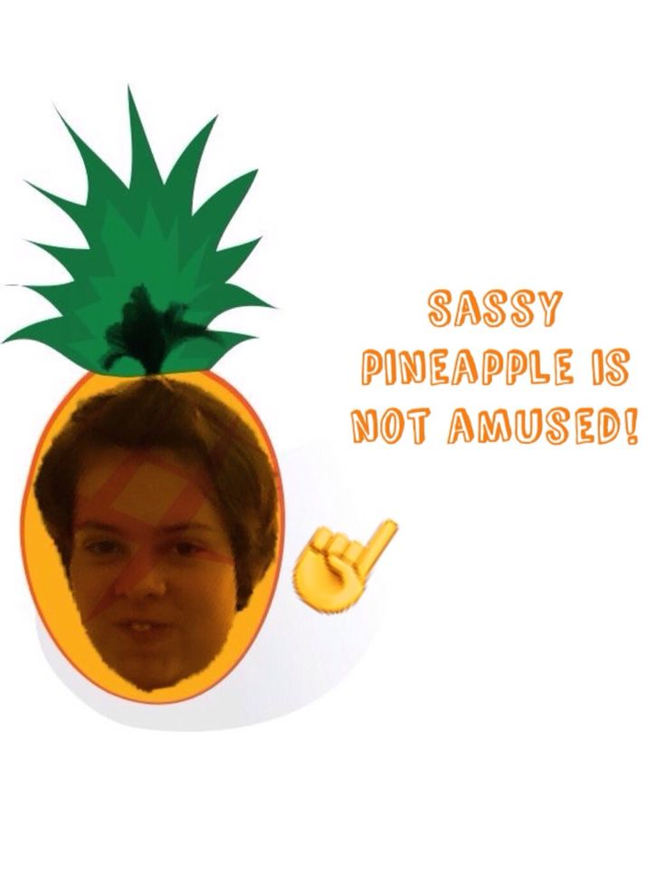 Kyandra is a sassy pineapple