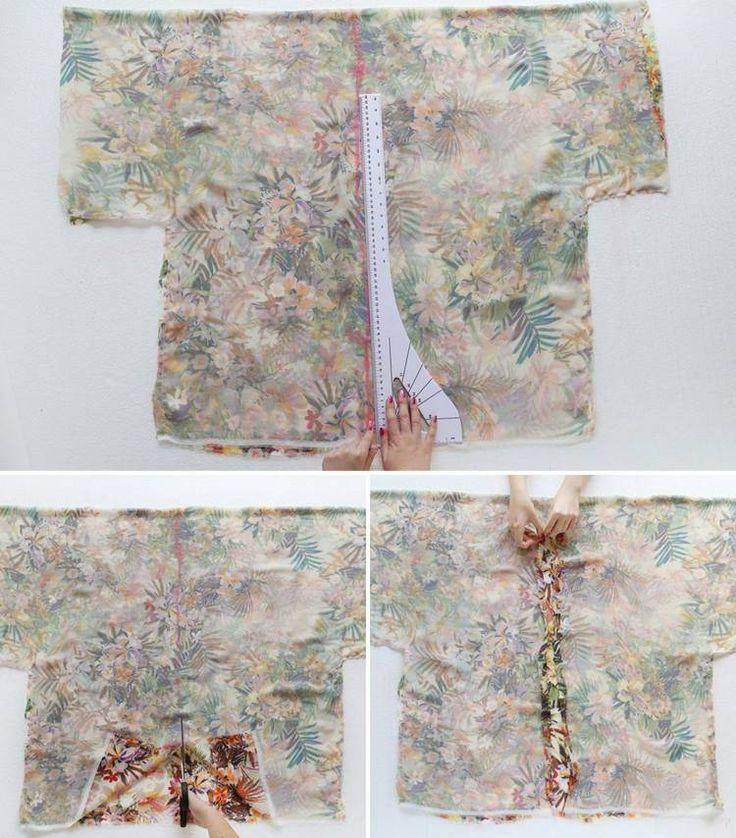 comment se faire un kimono - mesurer, couper et coudre