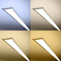 lineare LED CCT Einbauleuchte diffus 24V DC - ab 34cm bis...