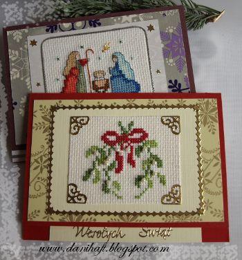 Christmast cards www.danihaft.blogspot.com