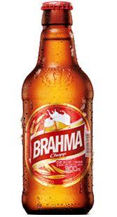 6f4d398a05741 Garrafa de cerveja Brahma Chopp Pilsen de 300ml