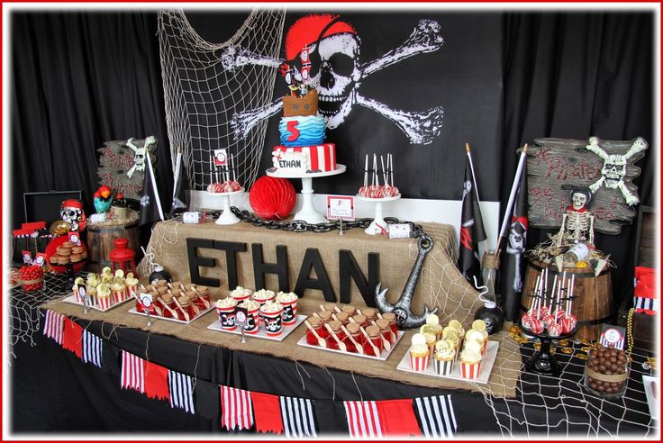 Leonie's Cakes and Parties . . . . .: PIRATE PARTY