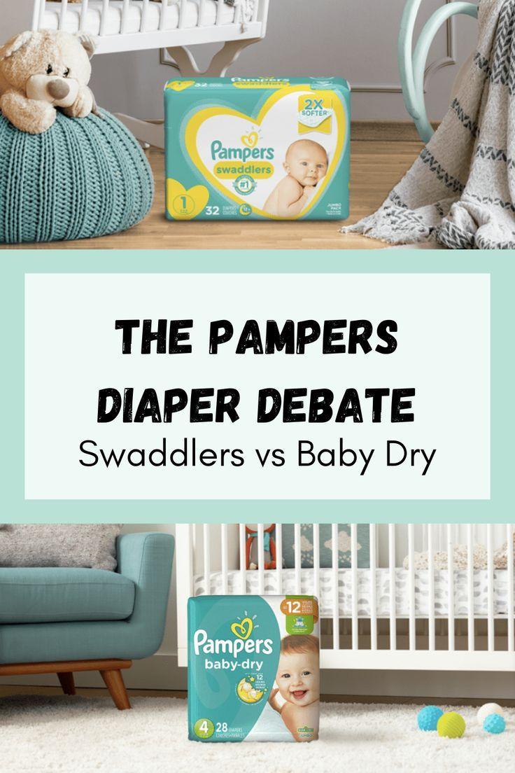 Swaddlers Vs Baby Dry : swaddlers, Diaper, Debate:, Pampers, Swaddlers, Swaddlers,