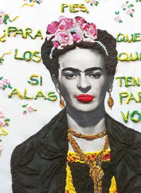 Frida Kahlo Shirt Painting T shirts 3d Art Work Quor Mexican Floral#frida #fridakahlo #frida_kahlo