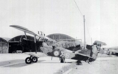 A Royal Hellenic pzl P-25 captured by the greman army in 1941